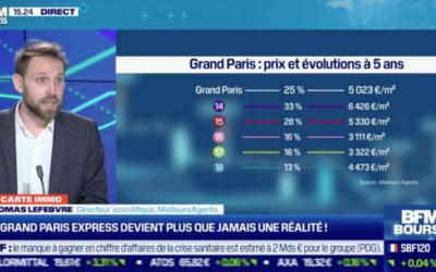 Investissement immobilier Grand Paris BFM Business