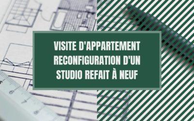 Reconfiguration et optimisation d'un studio refait à neuf