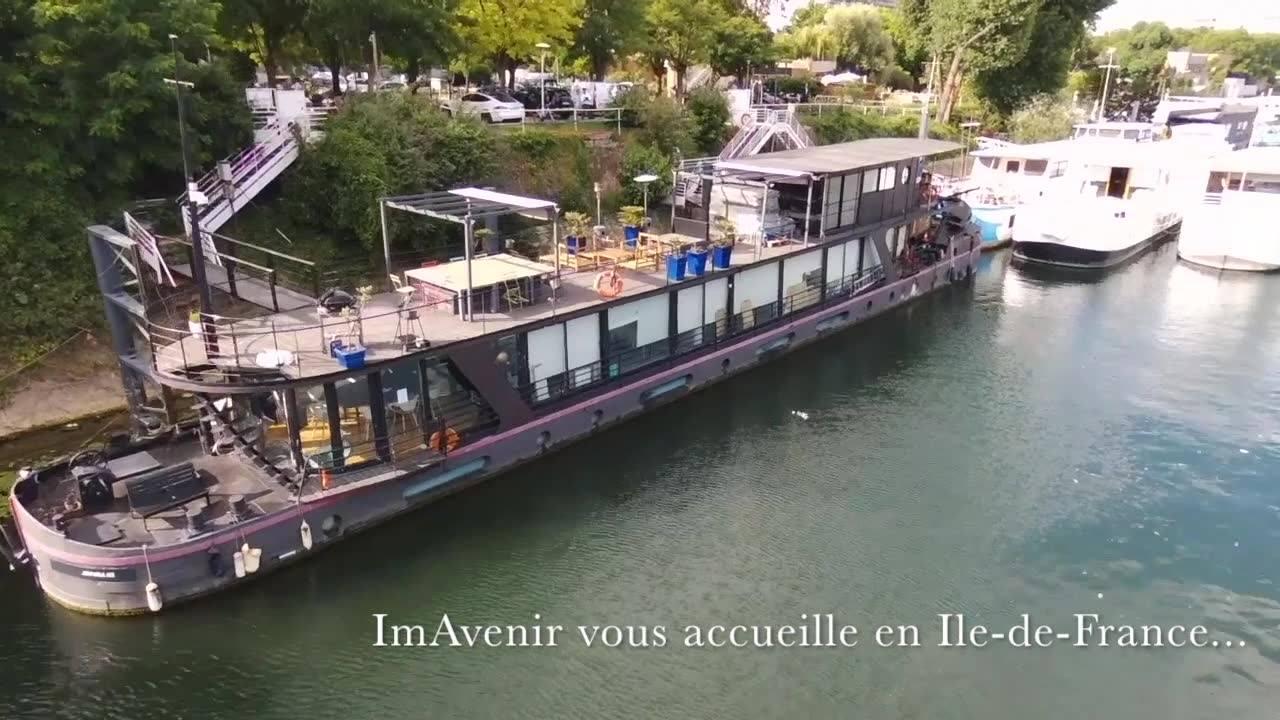 ImAvenir bureaux péniche en Ile-de-France
